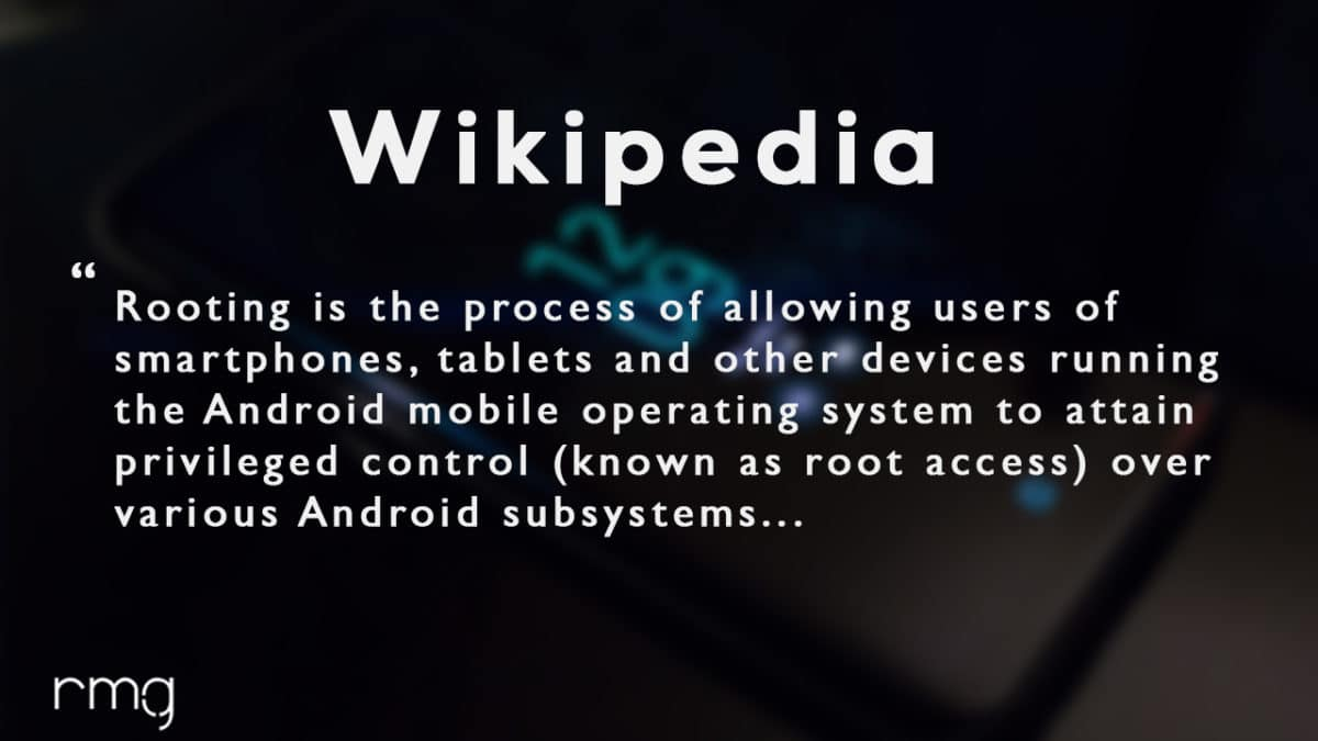 Rooting Android -Wikipedia